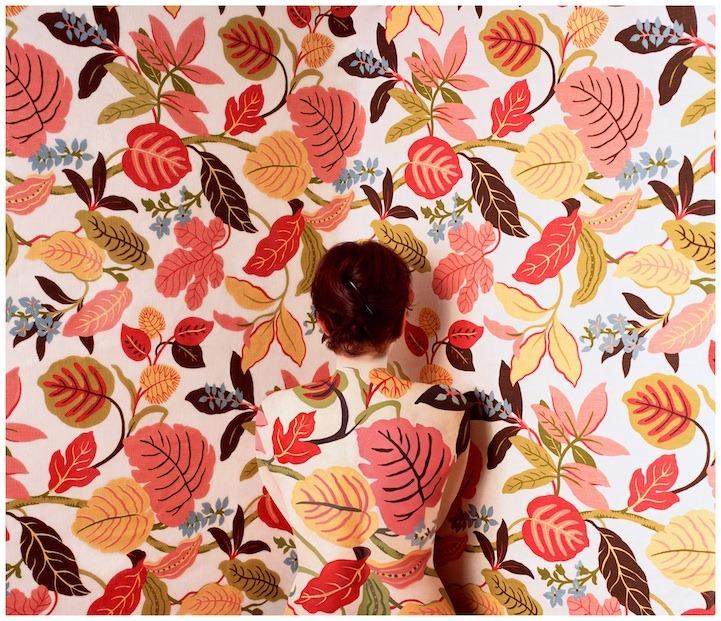 Цветочный боди-арт Сецилии Паредес