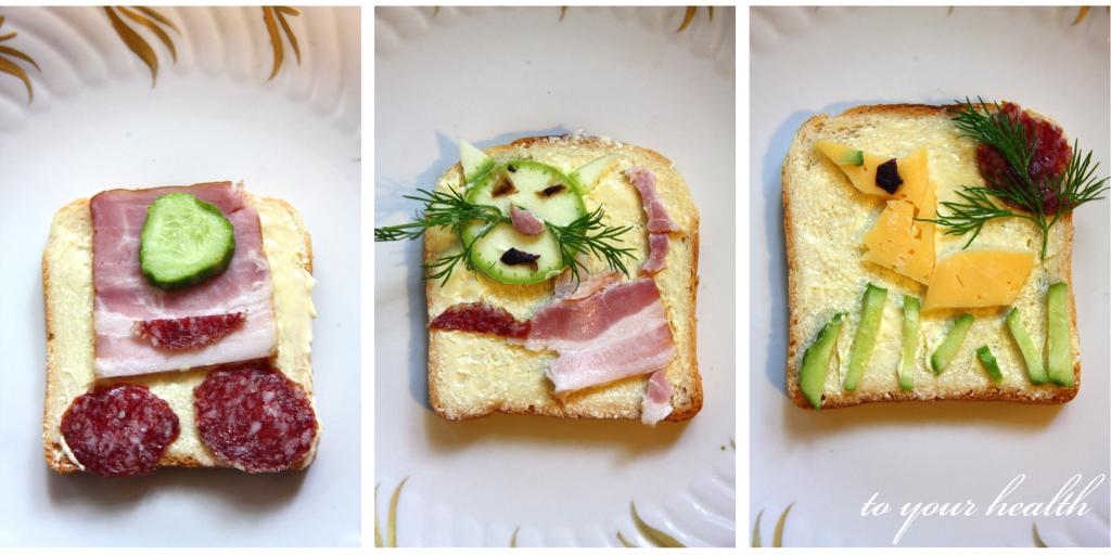 придуманные бутерброды